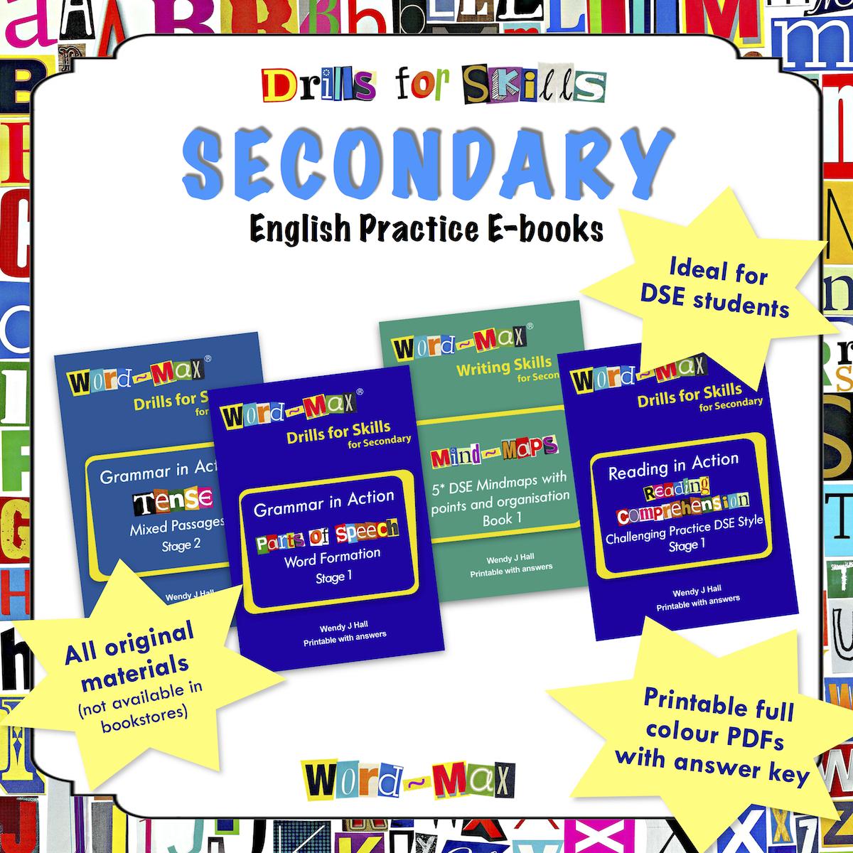 Secondary English Practice e-Books