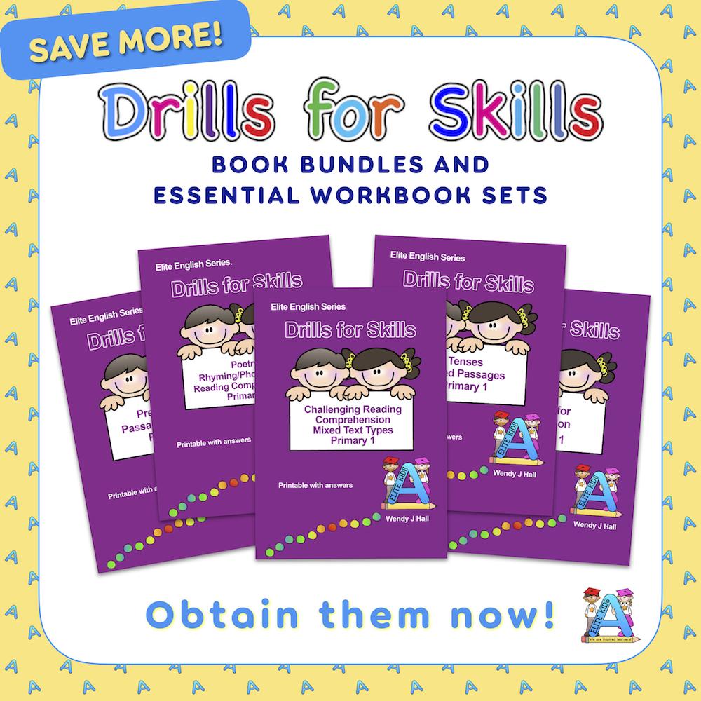 Drills for Skills Book Bundles and Workbook Sets