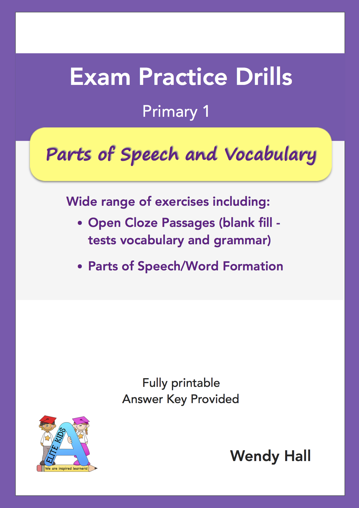 Elite Kids | Exam Practice Drills - Part of Speech and Vocabulary