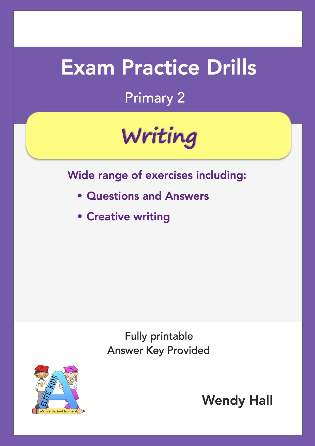 Elite Kids | Exam Practice Drills - Writing - Primary 2