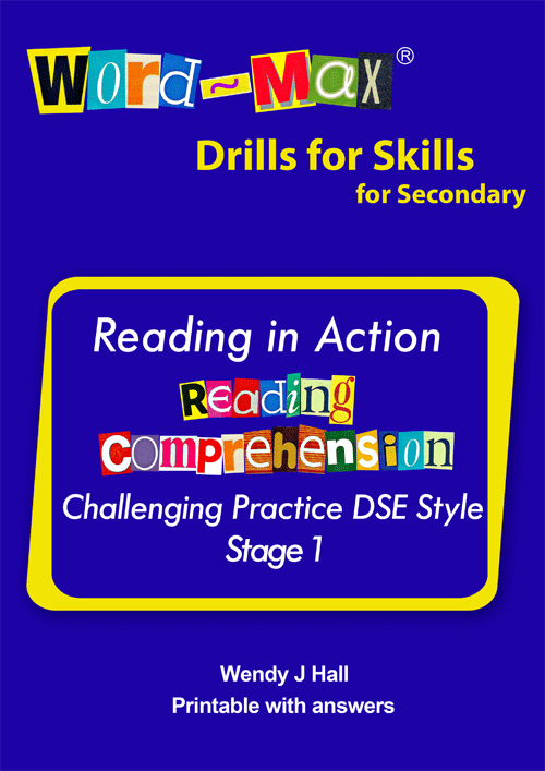 Word-Max | Reading in Action - Reading Comprehension - Stage 1