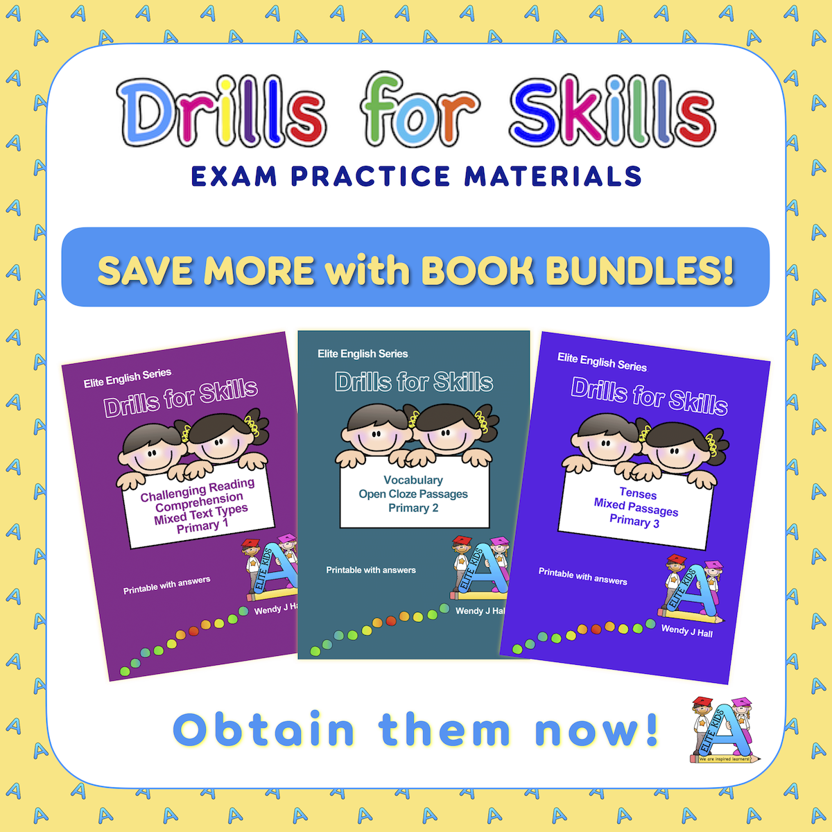 Drills for Skills Book Bundles and Workbook Sets
