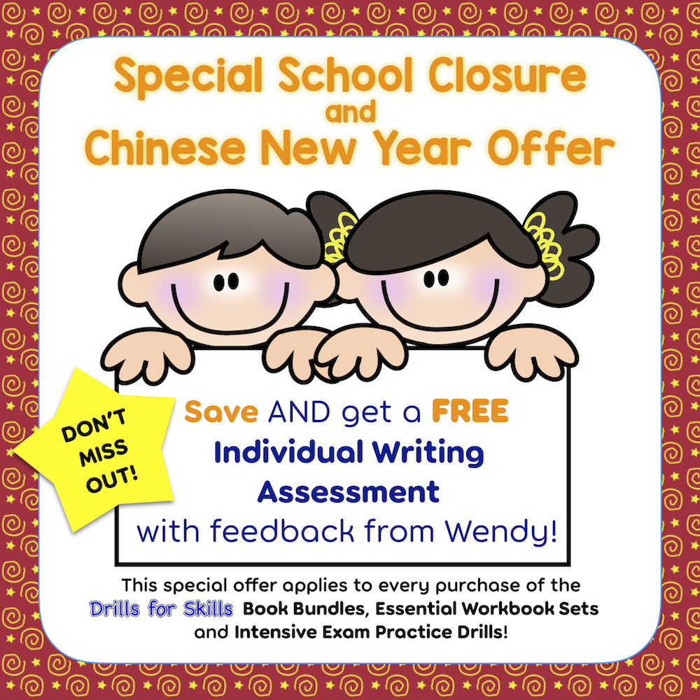 Special School Closure and Chinese New Year offer