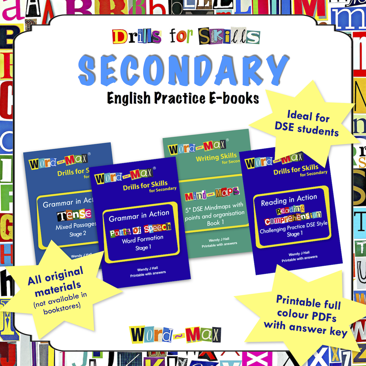 Drills for Skills - Secondary English Practice E-books
