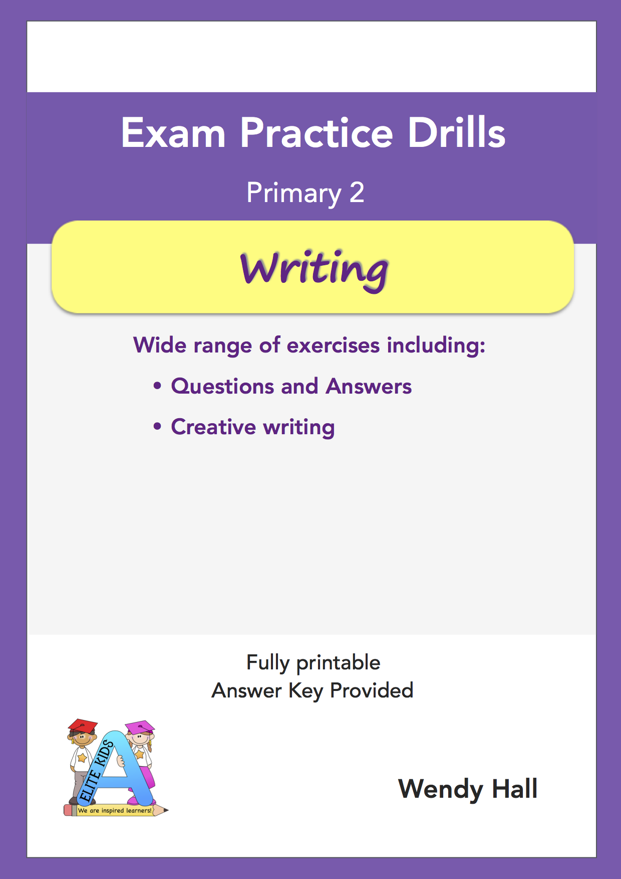 Elite Kids | Exam Practice Drills - Writing - Primary 2