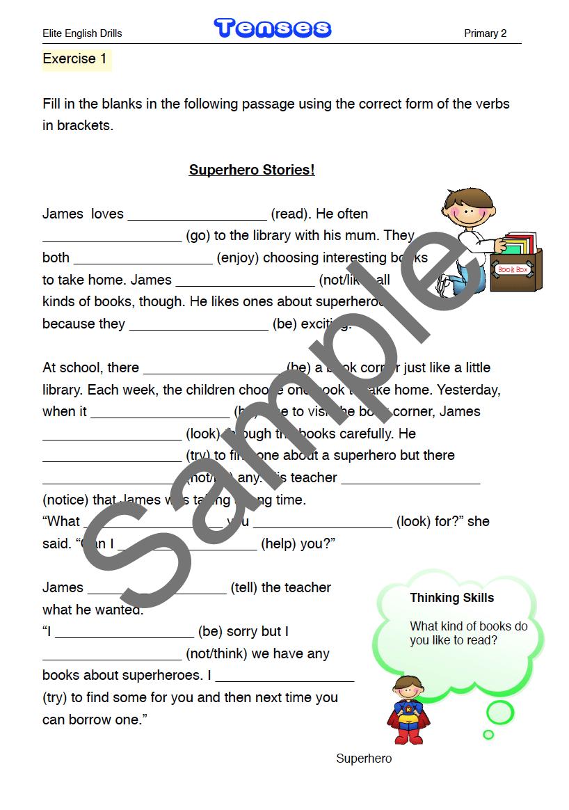 P2 English Practice