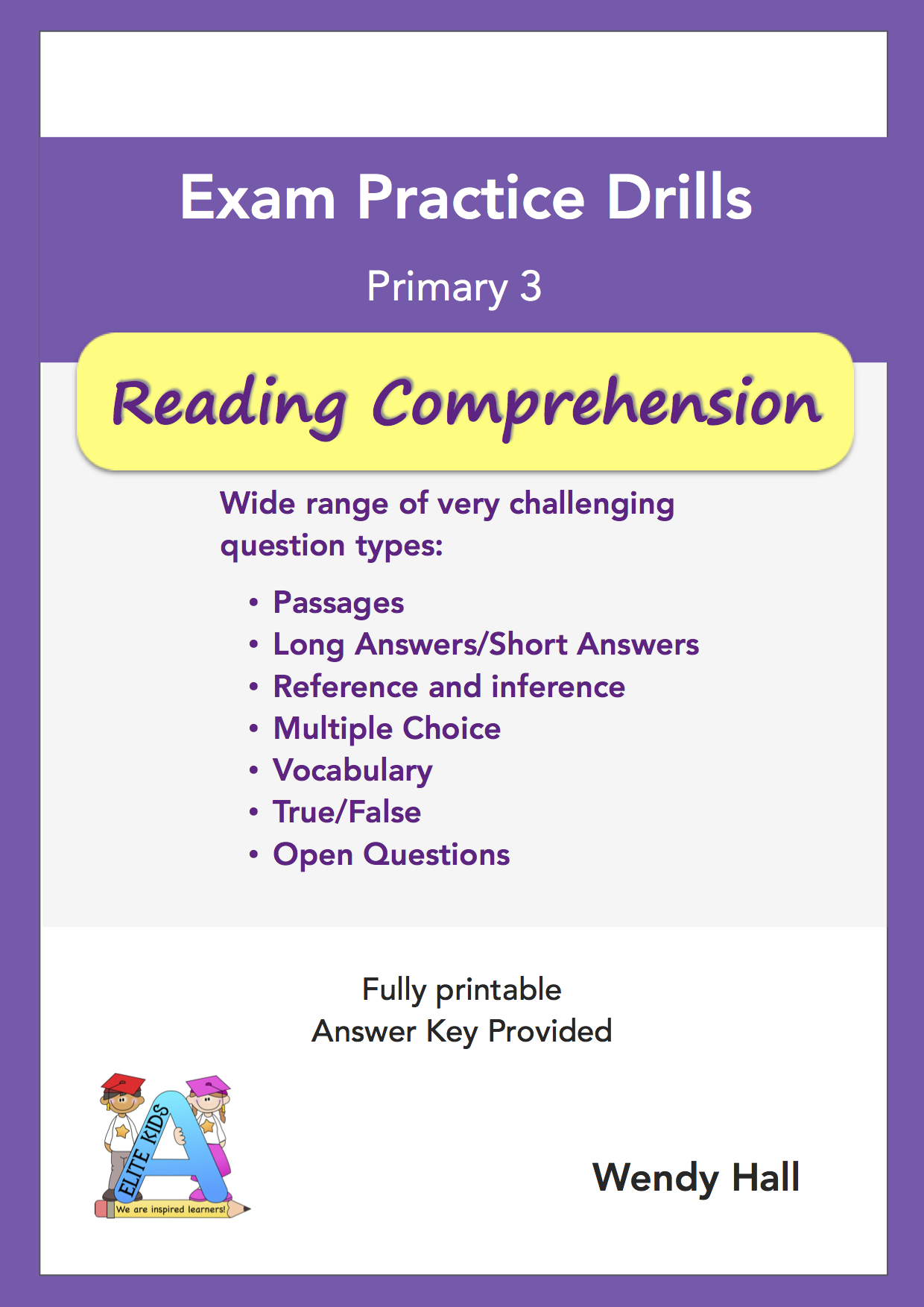 Elite Kids | Exam Practice Drills - Reading Comprehension - Primary 3