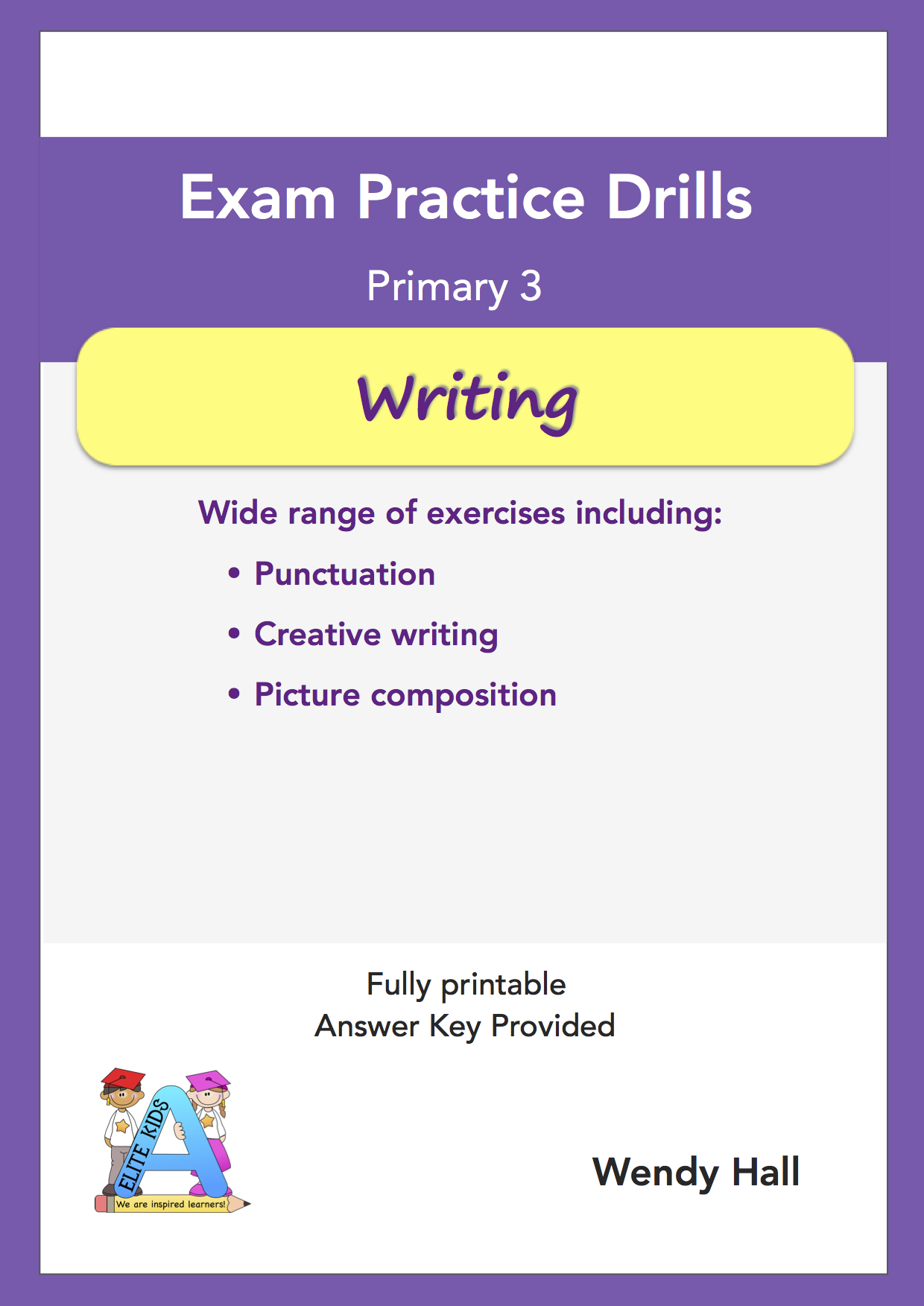 Elite Kids | Exam Practice Drills - Writing - Primary 3