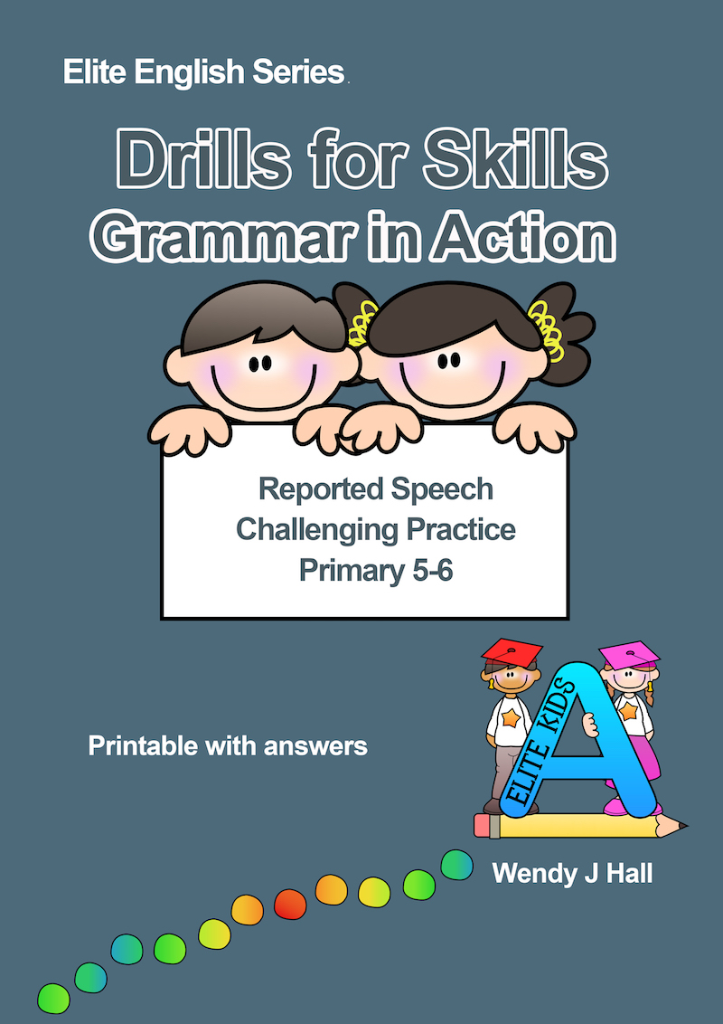 Drills for Skills - Reported Speech | Challenging Practice