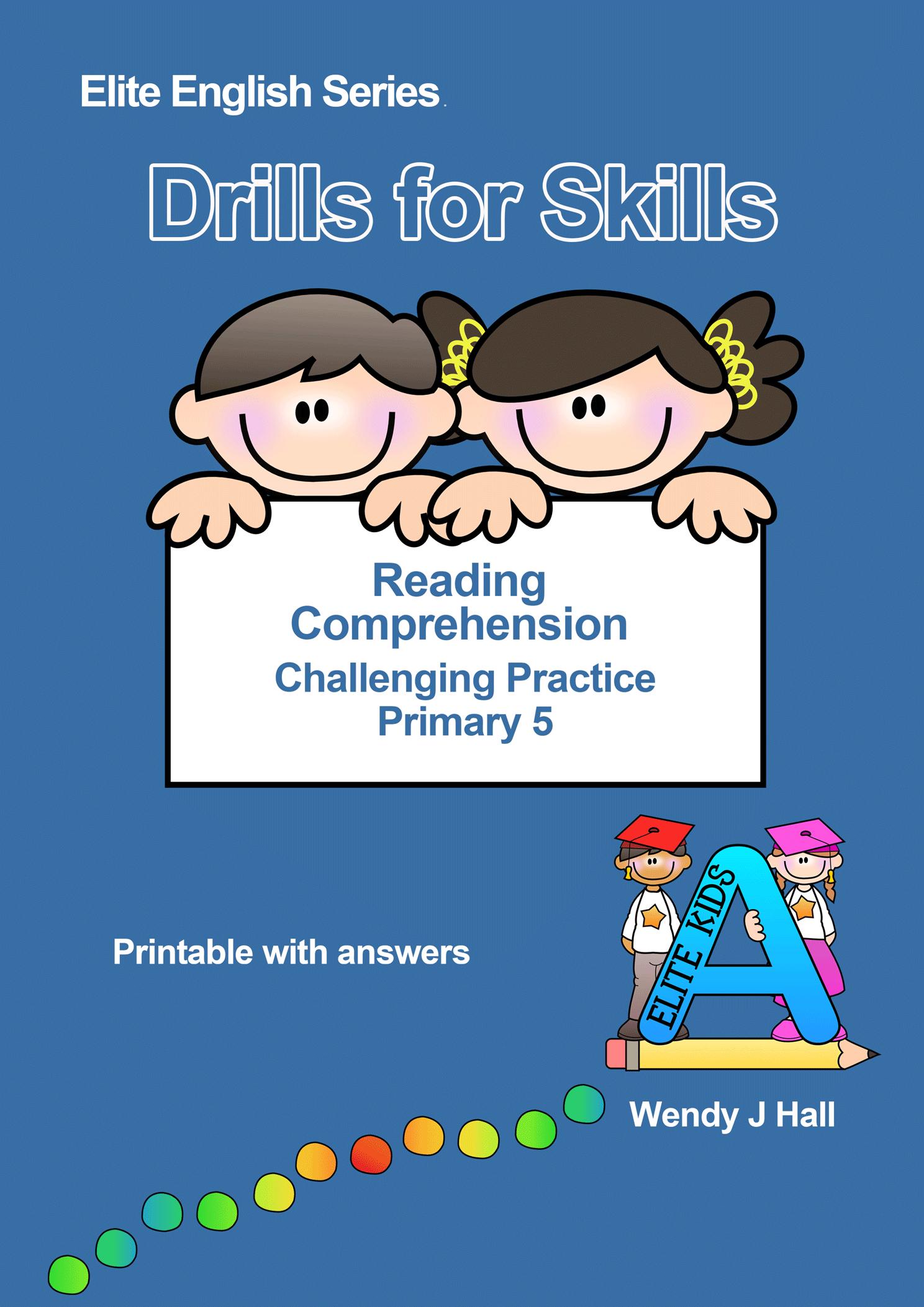 Reading Comprehension Skills Pdf
