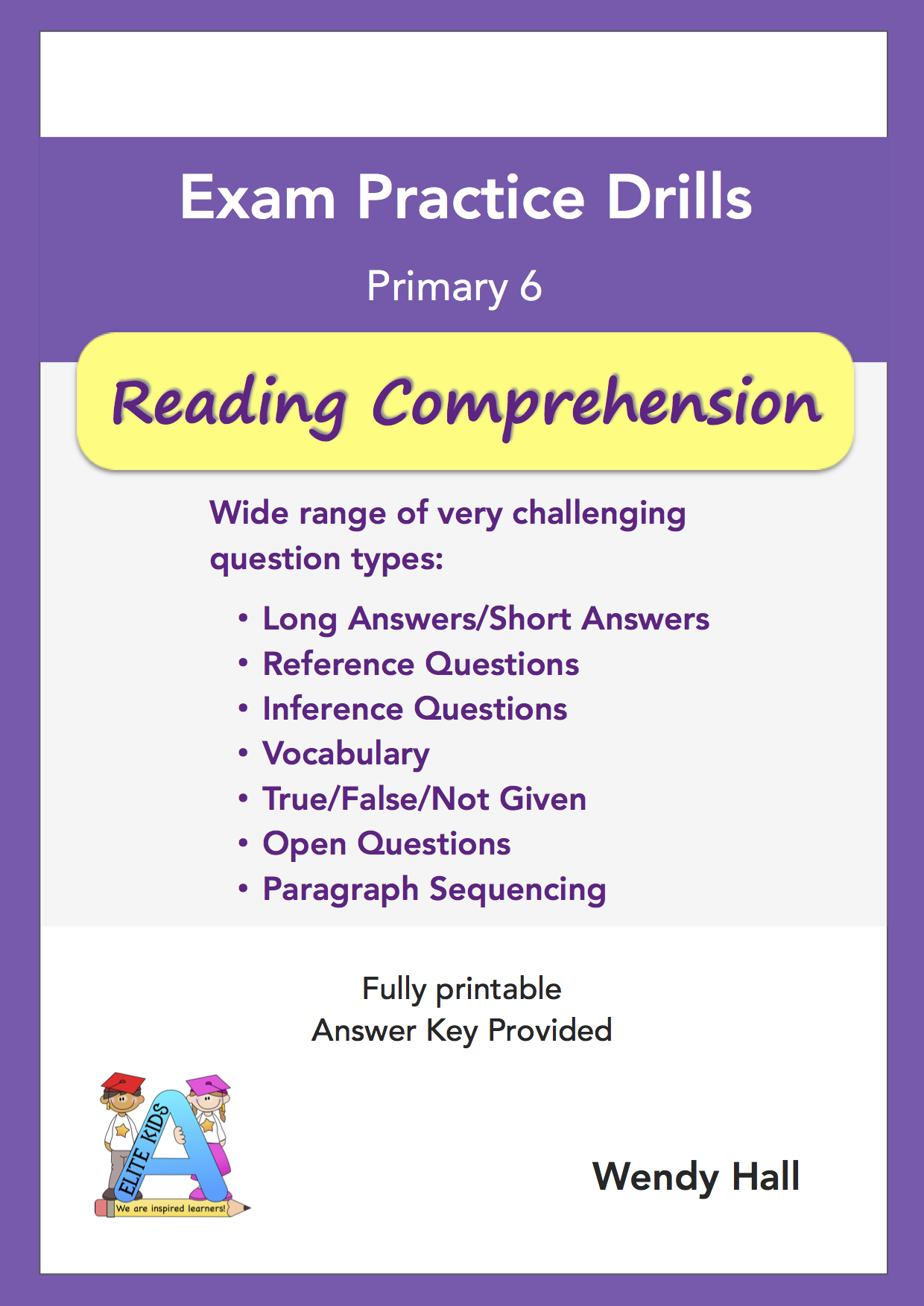 Elite Kids | Exam Practice Drills - Reading Comprehension- Primary 6