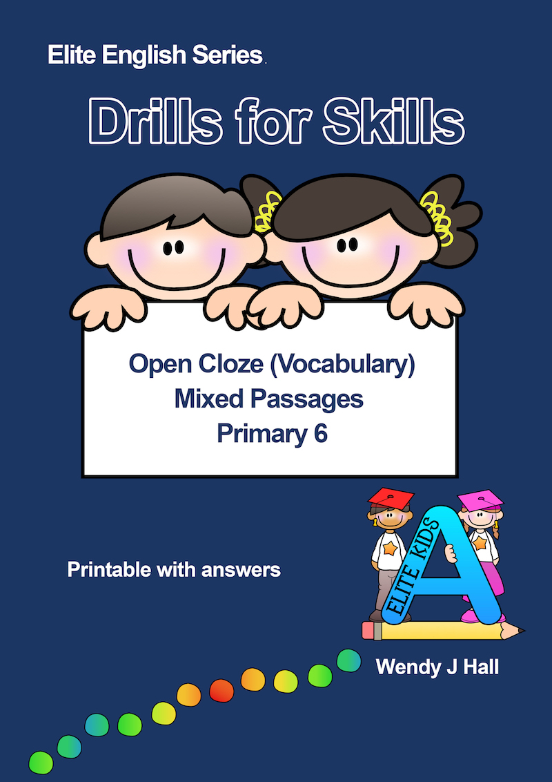 Drills for Skills - Open Close (Vocabulary) Mixed Passages